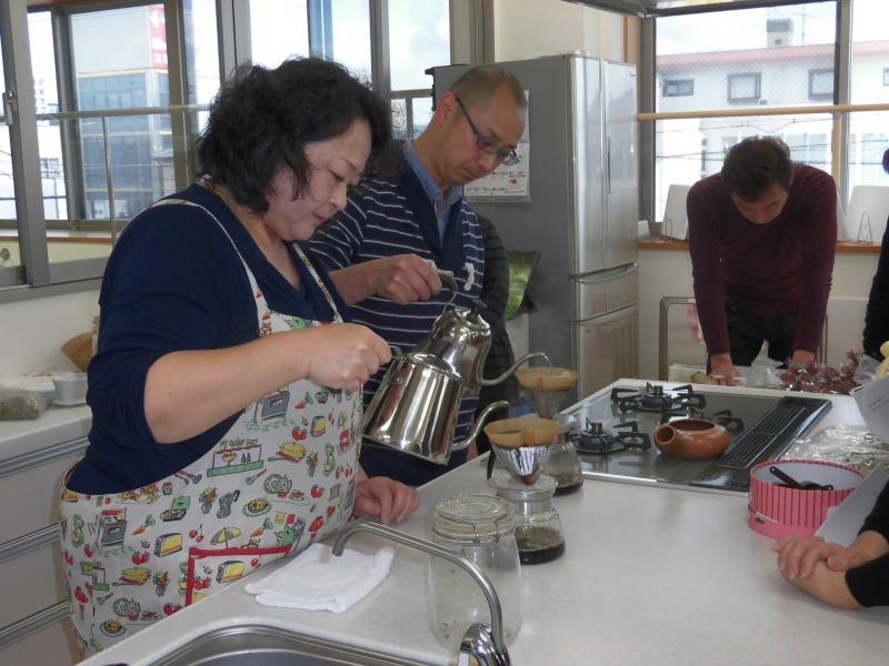 コーヒー豆焙煎教室